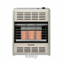 HearthRite HR10T 10000 BTU Infrared/Radiant Vent Free Gas Heater with Thermostat