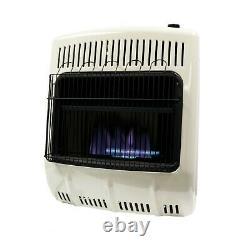 Heater Indoor 20,000 BTU Vent Free Gas Blue Flame Propane Heater