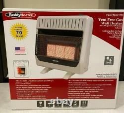 Infrared 30,000 BTU Vent Free Propane/Natural Gas Wall Heater- IWH26NLTD