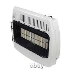 Infrared Heater 30000 BTU Wall Floor Mount Liquid Propane Vent Free Indoor Heat