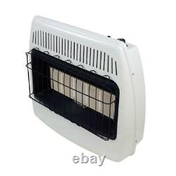 Infrared Wall Gas Heater Radiant Indoor Vent Free Cabin Garage Home 30,000 BTU