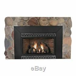 Insbrook Vent-Free IP 28000 BTU Fireplace Insert Natural Gas