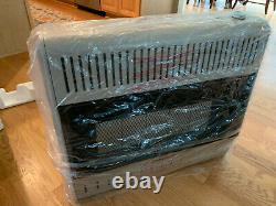 Kozy World GWR505 LP/Natural Gas Ceramic Space Heater 26,000 30,000 BTUs
