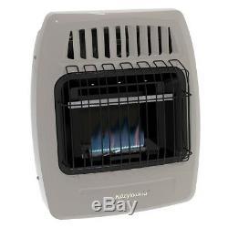 Kozy World KWD154 10,000 Btu (LP) & Natural Gas(NG) Vent Free Wall Heater