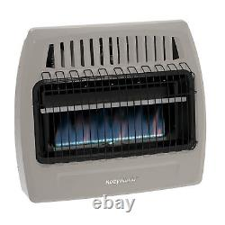 Kozy World KWN375 30K BTU Blue Flame Natural Gas Vent Wall Heater