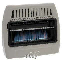 Kozy World Vent Free Wall Heater 30000 BTU Blue Flame Natural Gas KWN375