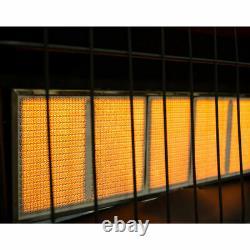 Liquid Propane Infrared Vent Free Space Heater 30,000 BTU Gas Wall Mount Heater