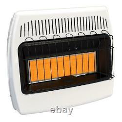 Liquid Propane Wall Heater Infrared Vent Free Cabin Garage Winter Warmer 1000sq