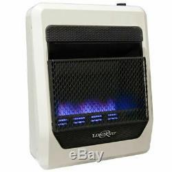 Lost River LRT20B-LP Ventless Liquid Propane Gas Heater 20,000 BTU, Vent Free