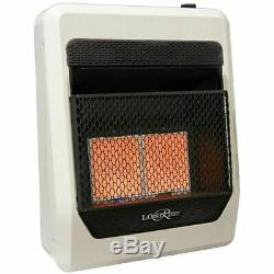 Lost River Liquid Propane Vent Free Infrared Gas Heater, Ventless -18,000 BTU