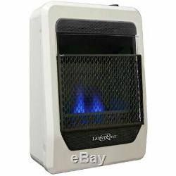 Lost River Natural Gas Ventless Blue Flame Gas Heater, Vent Free 10,000 BTU