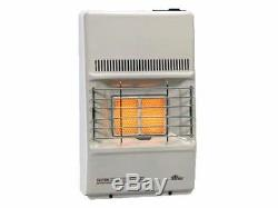 Manual Control 9500 BTU Infrared Radiant LP Gas Vent Free Heater