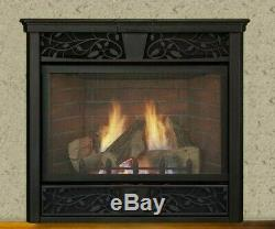 Monessen 32 Symphony Vent Free Gas Fireplace Traditional Millivolt Natural Gas