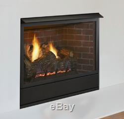 Monessen 36 Aria Vent Free Gas Fireplace Traditional IPI Natural Gas