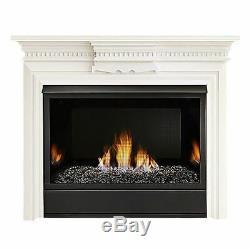 Monessen 36 Vent Free Traditional MV 37K BTU Fireplace System NG