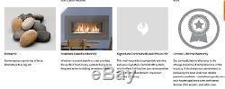 Monessen 42 See-Through Vent Free Gas Fireplace Linear Natural Gas Modern