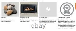 Monessen 60 Artisan Vent Free Gas Fireplace Linear Natural Gas Contemporary