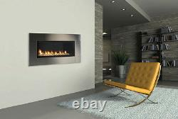 Monessen Artisan Vent Free Linear Gas Fireplace with Remote Modern- Easy Install