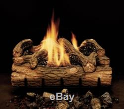 Monessen Charred Hickory Vent Free Gas Log 24 Natural Gas