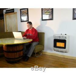 Mr. Heater 18,000 BTU Vent Free Radiant Propane Portable Gas Heater Steel