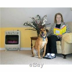 Mr Heater 20000 BTU Vent Free Blue Flame Natural Gas Indoor Outdoor Space Heater
