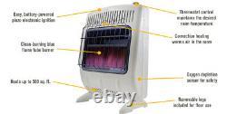 Mr. Heater 20,000 BTU Vent Free Blue Flame Gas Heater Shed Garage Home Tailgate