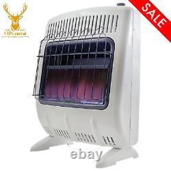 Mr. Heater 20,000 BTU Vent Free Blue Flame Liquid Propane Wall Floor Heater ODS