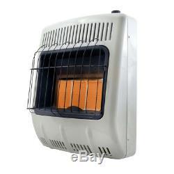 Mr Heater 20,000 BTU Vent Free Radiant Natural Gas Heater F299821 New