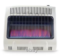 Mr. Heater 30000BTU Vent Free Blue Flame Natural Gas Heater with Built In Blower
