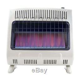 Mr Heater 30000 BTU Blue Flame Natural Gas Indoor Heater (Open Box)