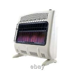 Mr Heater 30000 BTU Blue Flame Natural Gas Indoor Heater (Open Box) (2 Pack)