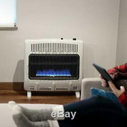 Mr. Heater 30000 BTU Vent Free Blue Flame Natural Gas Heater MHVFB30NGT
