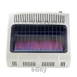 Mr Heater 30000 BTU Vent Free Blue Flame Natural Gas Wall or Floor Heater (Used)