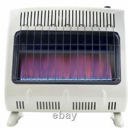 Mr. Heater 30,000 BTU Vent Free Blue Flame Gas Heater Garage Home Cabin F299731