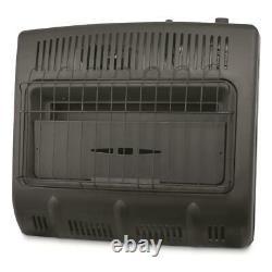 Mr. Heater 30,000 BTU Vent-free Blue Flame Natural Gas Heater, Black