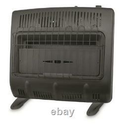 Mr. Heater 30,000 BTU Vent-free Blue Flame Natural Gas Heater USA (Black)