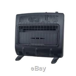 Mr. Heater 30,000 Vent Free Blue Flame Natural Gas Garage Space Heater
