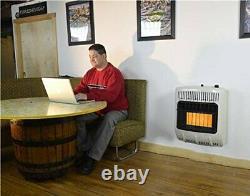 Mr. Heater Corporation Vent-Free 20000 BTU Radiant Natural Gas Heater Multi