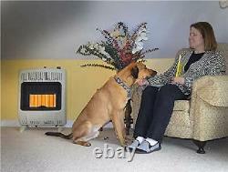 Mr. Heater Corporation Vent-Free 20,000 BTU Radiant Natural Gas Heater, Multi