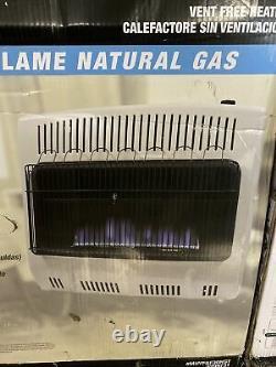 Mr Heater F299731 Blue Flame 30000 BTU Natural Gas Vent Free Heater (Q-38)