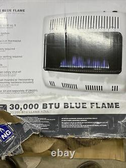 Mr. Heater MHVFBF30NGT 30 000 BTU Vent-Free Blue Flame Natural Gas Heater (Q-38)