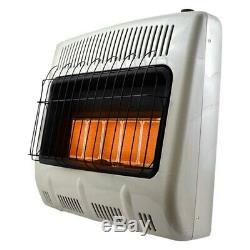 Mr. Heater MHVFRD30NGT 30,000 BTU/h Natural Gas Vent Free Radiant Air Heater