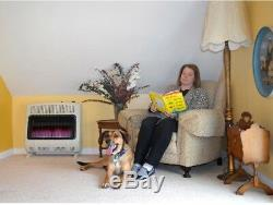 Mr. Heater Natural Gas Heater 30000 BTU Vent Free Blue Flame Wall or Floor Mount