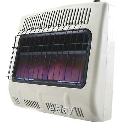 Mr. Heater Natural Gas Vent-Free Blue Flame Wall Heater 30,000 BTU