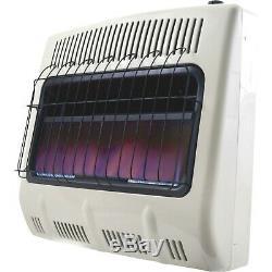 Mr. Heater Natural Gas Vent-Free Blue Flame Wall Heater 30,000 BTU, Model# MHV