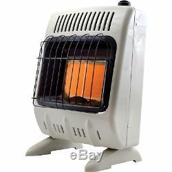 Mr. Heater Natural Gas Vent-Free Radiant Wall Heater 10,000 BTU #MHVFR10NG