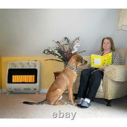 Mr. Heater VENT FREE Natural Gas Radiant Wall Heater 30,000 BTU MHVFRD30NGT