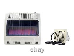 Mr. Heater Vent-Free 30,000 BTU Blue Flame Natural Gas Heater + Mr. Heater Vent