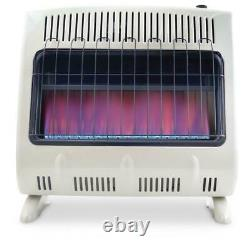 Mr. Heater Vent Free Blue Flame Natural Gas Heater 30,000 BTUs Removable Legs