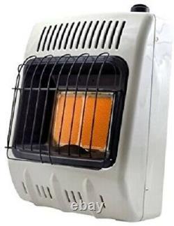 Mr. Heater Vent-Free Radiant Natural Gas Heater 10000 BTU, Off-White, F299811